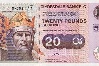 Внешний вид фунта стерлингов, Шотландский фунт 62e7421e094