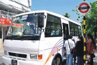 Мальдивы фото – Автобус в Мале