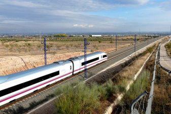 Испания фото – скоростной междугородний поезд