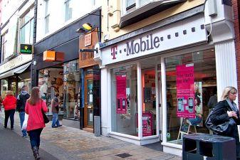 Магазин мобильного оператора T-mobile