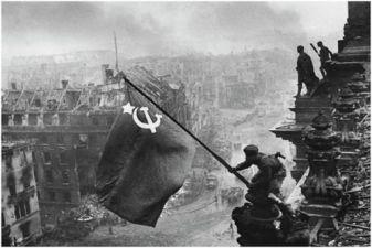 Россия фото– знамя Победы над Берлином