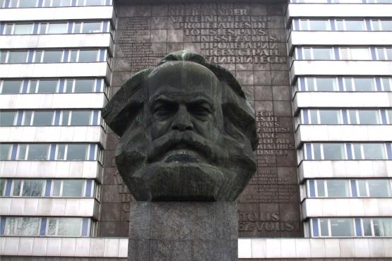 Памятник Марксу в саксонском городе Хемниц