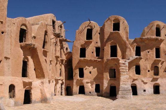 Тунис фото– Берберская деревня