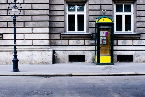 Телефон-автомат в Австрии