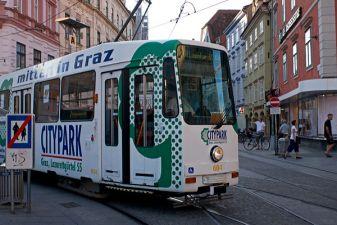 Трамвай в Граце