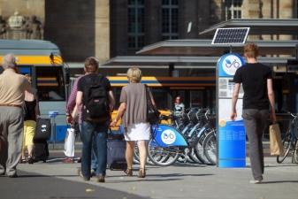 Стоянка NextBike в Дрездене