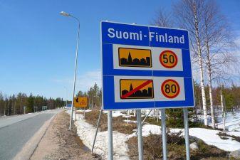 Финляндия фото – Дорожные знаки