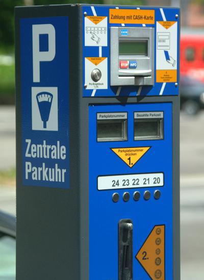 Паркомат в Швейцарии