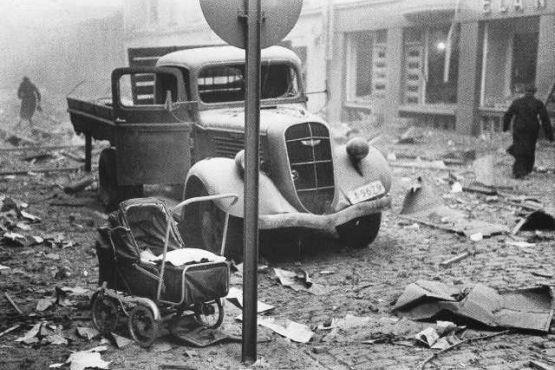 Хельсинки фото– После советских бомбежек во время Зимней войны