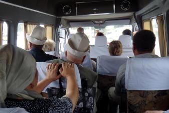 Поездка на маршрутке