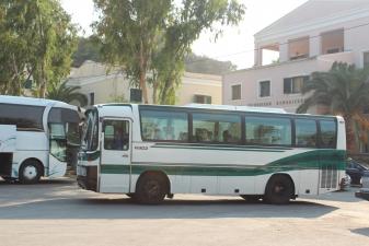 Автобус на Корфу