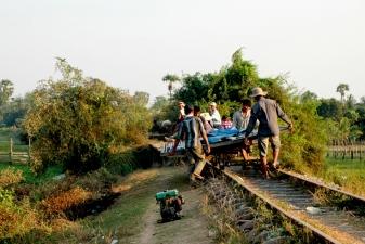 «бамбуковый поезд»