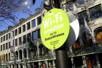 Зона бесплатного Wi-Fi, Бостон