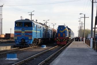 Поезда в Казахстане