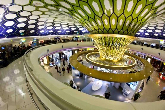 Аэропорт в Абу-Даби (Abu Dhabi