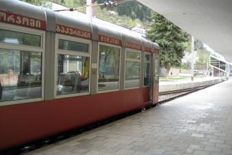 Поезд узкоколейной дороги