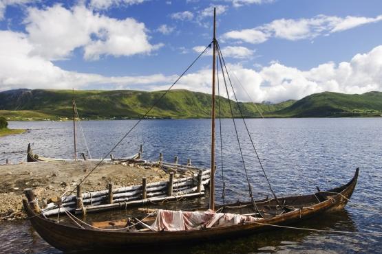 Реконструкция корабля викингов