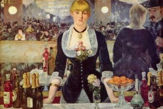 Бар в «Фоли-Бержер», Эдуард Мане, 1882 г.