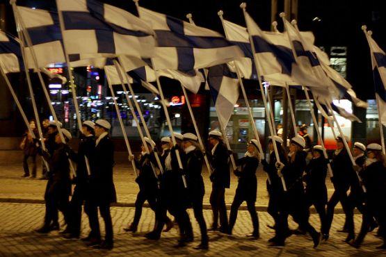 Финляндия фото– Празднование Дня Независимости
