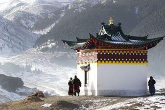 Зима в Тибете