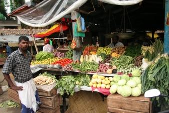 Ланкийский уличный рынок