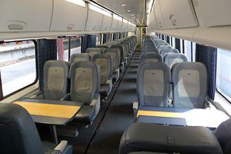 Плацкарт в поездах США