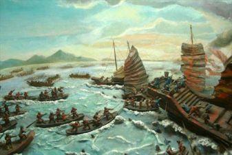 Вьетнам фото– Морское сражение с китайским флотом