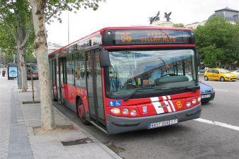 Испания фото – городской автобус