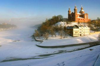 Зима в Витебке
