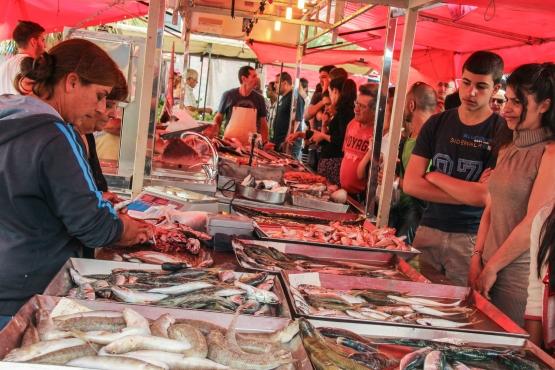 Главный рынок Мальты находится в рыбацкой деревне Марсашлокк