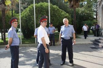 Абхазские милиционеры