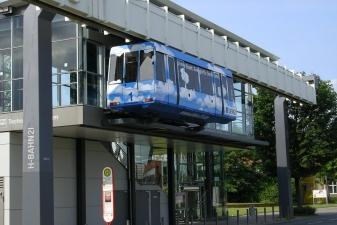 Монорельс H-Bahn в Дортмунде