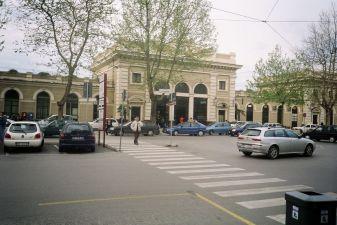 Ж/д вокзал в Римини