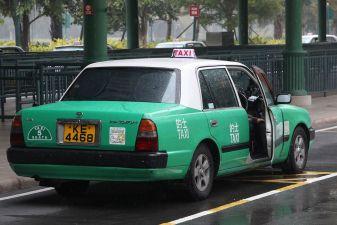 Гонконг фото – такси в аэропорту